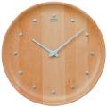 シンプルでスタイリッシュ セイコー掛け時計 SEIKO時計 KX622H ビーチウッド 天然木