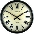 レトロ調でお洒落!ロジャーラッセルRogerLascelles社製 掛け時計 LM-LASC-BLACK