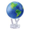 """回り続ける不思議な地球儀 4.5""""MOVA GLOBES  ムーバグローブ MG45STENE   φ11.4cm Natural Earth"""