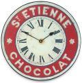 アンティーク調でお洒落!ロジャーラッセル掛け時計 RogerLascelles掛け時計 Chocolate French St. Etienne Kitchen Wall Clock  壁掛け時計 PUB-ETIENNE