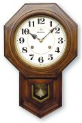 格調高く時の訪れを告げます! ボンボン報時付き だるま振り子時計 QL688A サンテル 日本製