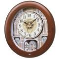 【からくり時計、掛け時計】ウエーブシンフォニー RE574B セイコー掛け時計  SEIKO電波時計