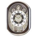 文字盤のディスクが回転します!からくり時計ウエーブシンフォニー RE578B セイコー SEIKO電波時計