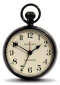 レトロな懐中時計デザイン!NEW GATEニューゲート アラームクロック  REGULATOR ブラック