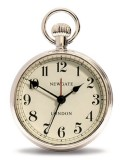 レトロな懐中時計デザイン!NEW GATEニューゲート アラームクロック  REGULATOR クローム