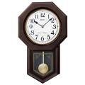 チャイムとストライクで時を知らせます!報時振り子時計  セイコーSEIKO振り子時計 RQ325B セイコー掛け時計