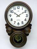 格調高く時の訪れを告げます! ボンボン報時付き だるま振り子時計 SQ01A サンテル 日本製