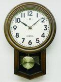 さんてる スタンダード振り子時計 電波振り子ムーブメント SR06-A サンテル 日本製