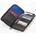 ラウンドファスナー付トラベルケース、パスポートケース ナイトスカイ [TRV67-BL] トロイカ