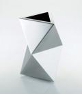 トライアングルVase ステンレスフラワーベース SALUS FB-08