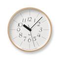 Lemnos レムノス 電波掛け時計 Riki CLOCK RC WR07-10φ254