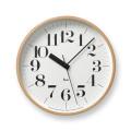 Lemnos レムノス 電波掛け時計 Riki CLOCK RC WR07-11φ254