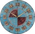 陶器の温かさとイタリアンアートに溢れる魅力! アントニオ・ザッカレラ Antonio Zaccarella 陶器 掛け時計ZC005-005