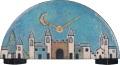 陶器の温かさとイタリアンアートに溢れる魅力! アントニオ・ザッカレラ陶器置き時計ZC007-004