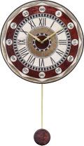 陶器の温かさとイタリアンアートに溢れる魅力! アントニオ・ザッカレラ Antonio Zaccarella 陶器振り子時計ZC135-001
