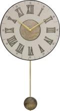 陶器の温かさとイタリアンアートに溢れる魅力! アントニオ・ザッカレラ Antonio Zaccarella 陶器振り子時計ZC182-003 掛け時計