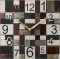 陶器の温かさとイタリアンアートに溢れる魅力! アントニオ・ザッカレラ陶器 掛け時計 ZC185-009