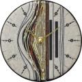 陶器の温かさとイタリアンアートに溢れる魅力! アントニオ・ザッカレラ陶器 置き掛け兼用時計 ZC187-003