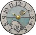 陶器の温かさとイタリアンアートに溢れる魅力! アントニオ・ザッカレラ陶器 置き掛け兼用時計 ZC908-004