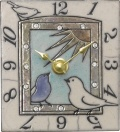 陶器の温かさとイタリアンアートに溢れる魅力! アントニオ・ザッカレラ陶器 置き掛け兼用時計 ZC909-004