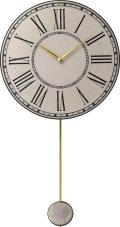 陶器の温かさとイタリアンアートに溢れる魅力! アントニオ・ザッカレラ Antonio Zaccarella 陶器振り子時計ZC910-003 掛け時計