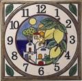 陶器の温かさとイタリアンアートに溢れる魅力! アントニオ・ザッカレラAntonio Zaccarella 陶器 置き掛け兼用時計 ZC914-003