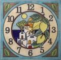 陶器の温かさとイタリアンアートに溢れる魅力! アントニオ・ザッカレラ Antonio Zaccarella 陶器 置き掛け兼用時計 ZC915-004