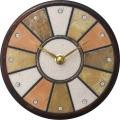 陶器の温かさとイタリアンアートに溢れる魅力! アントニオ・ザッカレラ Antonio Zaccarella 陶器 置き掛け兼用時計 ZC919-014