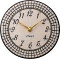 陶器の温かさとイタリアンアートに溢れる魅力! アントニオ・ザッカレラ Antonio Zaccarella 陶器 置き掛け兼用時計 ZC923-003