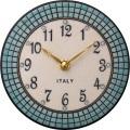 陶器の温かさとイタリアンアートに溢れる魅力! アントニオ・ザッカレラ Antonio Zaccarella 陶器 置き掛け兼用時計 ZC924-004