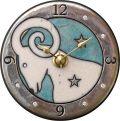 12星座シリーズ アントニオ・ザッカレラ 陶器 置き掛け兼用時計 ZC926-ZC937