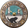 アントニオ・ザッカレラ 陶器 置き掛け兼用時計 ZC938-004 陶器の温かさとイタリアンアートに溢れる魅力