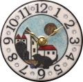 アントニオ・ザッカレラ 陶器 置き掛け兼用時計 ZC939-004 ザッカレラZ939