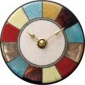 陶器の温かさとイタリアンアートに溢れる魅力! アントニオ・ザッカレラ Antonio Zaccarella 陶器 置き掛け兼用時計 ZC940-003