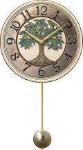 陶器の温かさとイタリアンアートに溢れる魅力! アントニオ・ザッカレラ Antonio Zaccarella ザッカレラZ946 陶器振り子時計 ZC946-005