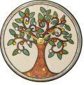 陶器の温かさとイタリアンアートに溢れる魅力! アントニオ・ザッカレラ Antonio Zaccarella 陶器 置き掛け兼用時計 ZC961-003