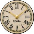 陶器の温かさとイタリアンアートに溢れる魅力! アントニオ・ザッカレラ Antonio Zaccarella ザッカレラZ964 陶器 置き掛け兼用時計ZC964-003