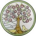 陶器の温かさとイタリアンアートに溢れる飾り皿! アントニオ・ザッカレラD001陶器飾り皿 ZD001-013
