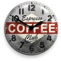 アンティーク調仕上げが魅力です! NEW GATEニューゲート掛け時計 COFFEE ADVERTISING Wall Clock COFCON50