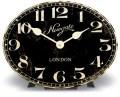 アンティーク調デザインがお洒落! NEWGATEニューゲート 置時計 POET'S ブラック POES228AK