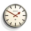 レトロなunderground station clock NEW GATEニューゲート掛け時計 Putney Wall Clock クロームPUT390CH