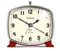 音の静かなSWEEP MOVEMENT!NEW GATEニューゲート アラームクロック TOLEDO レッド TOL388R