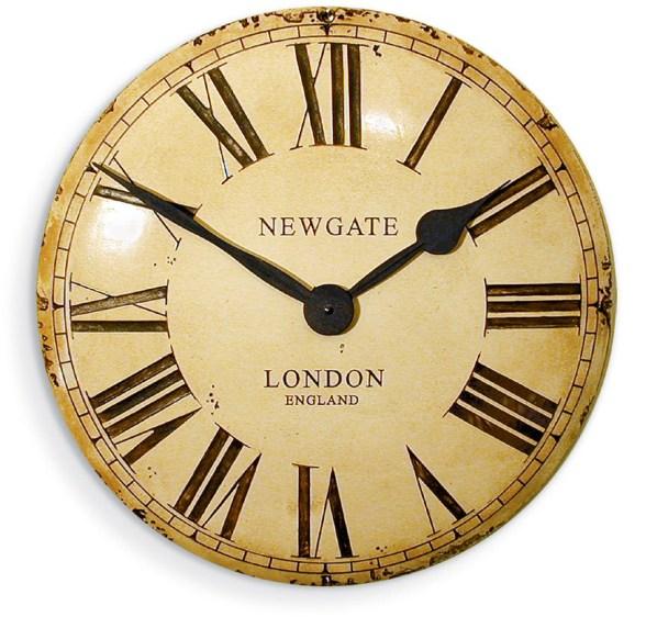 レトロなデザイン魅力です! NEW GATEニューゲート掛け時計 Convex Dial  Wall Clock VEXCRM