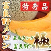 【9月上旬まで出荷!】 北海道富良野メロン 特秀品 特大玉(約2.3kg以上)