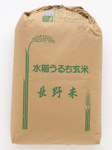【送料無料】2年産 特別栽培米安曇野産コシヒカリ(一等玄米) 30kg【新米!】
