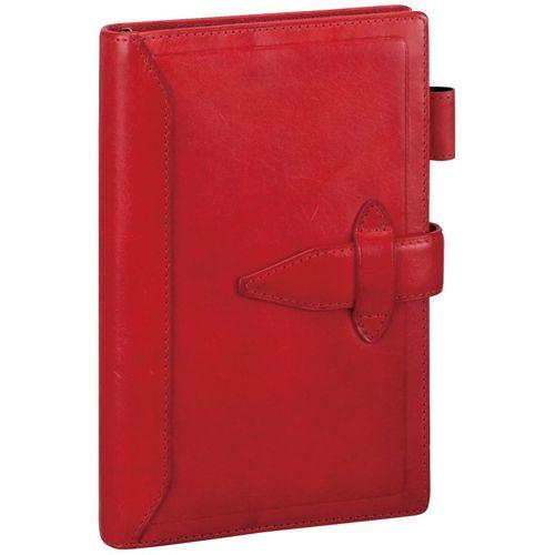 ダヴィンチ システム手帳 ロロマクラシック (聖書) 15mm レッド