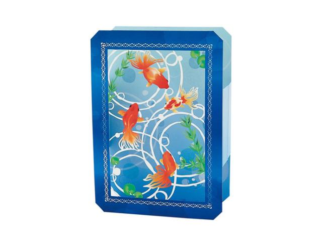 蓄光箱形金魚