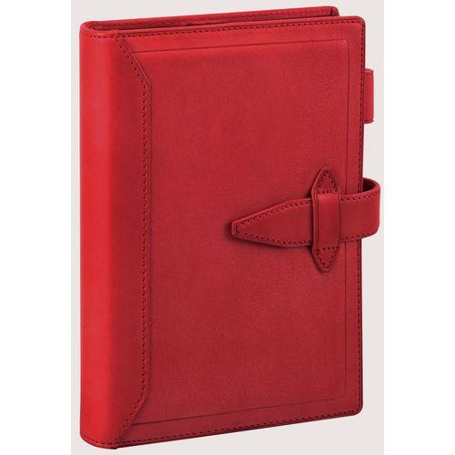 ダヴィンチ システム手帳 ロロマクラシック (聖書) 24mm レッド