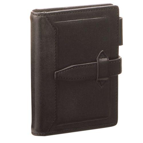 ダヴィンチ システム手帳 ロロマクラシック (ミニ5) 11mm ブラック