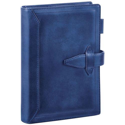 ダヴィンチ システム手帳 ロロマクラシック (聖書) 24mm ブルー